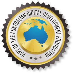 Part of The Australian DIgital Foundation Logo