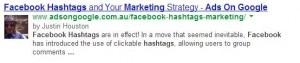 authorship markup